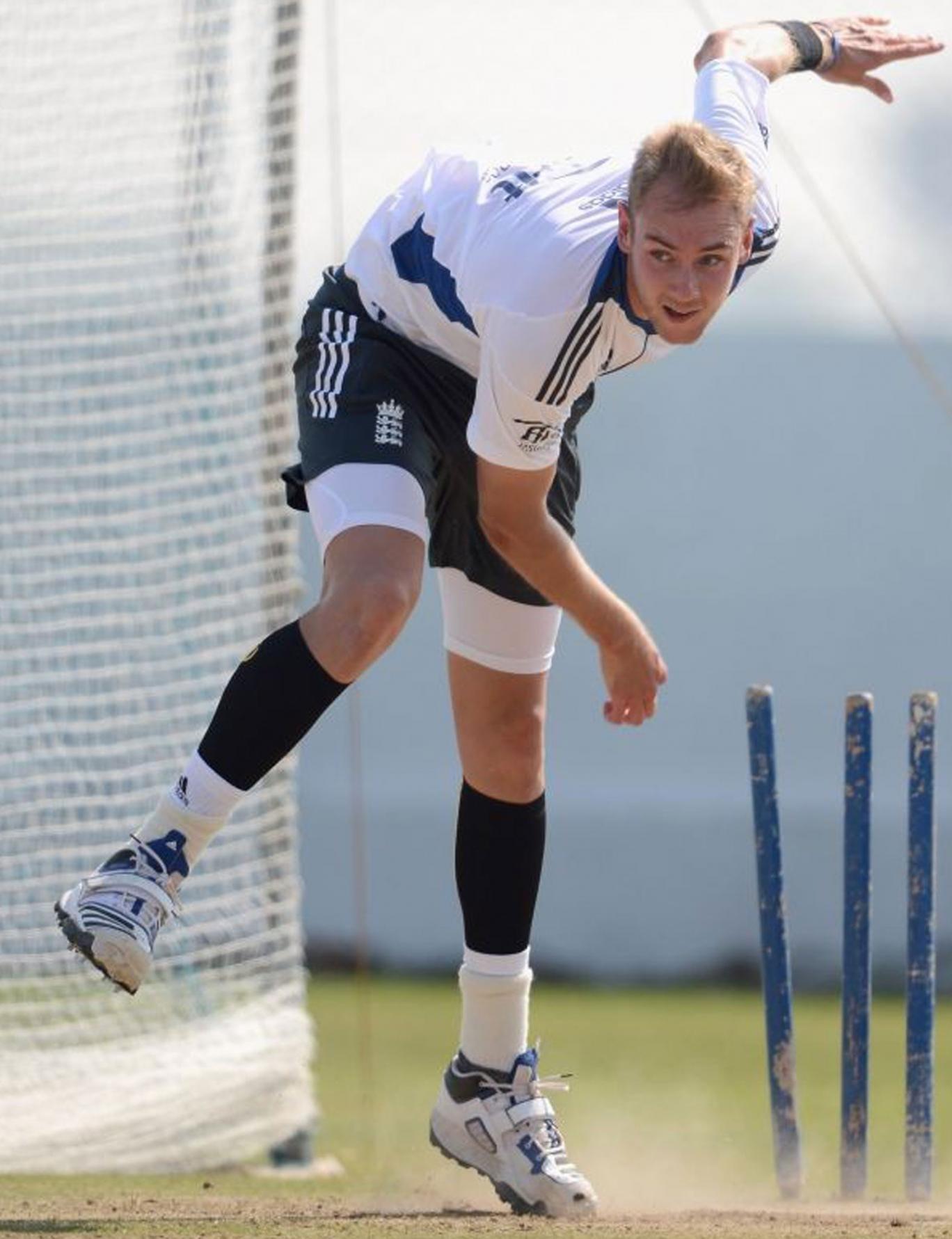England cricketer, Stuart Broad