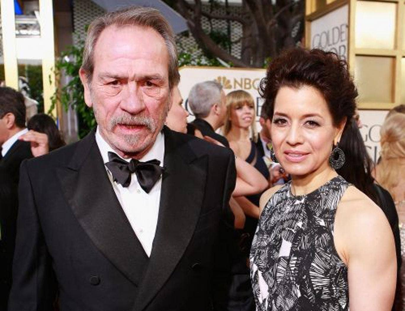 The Award for Best Face at the Golden Globes went to Tommy Lee Jones