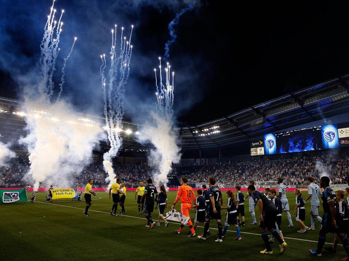 A view of what was the Livestrong Sporting Park