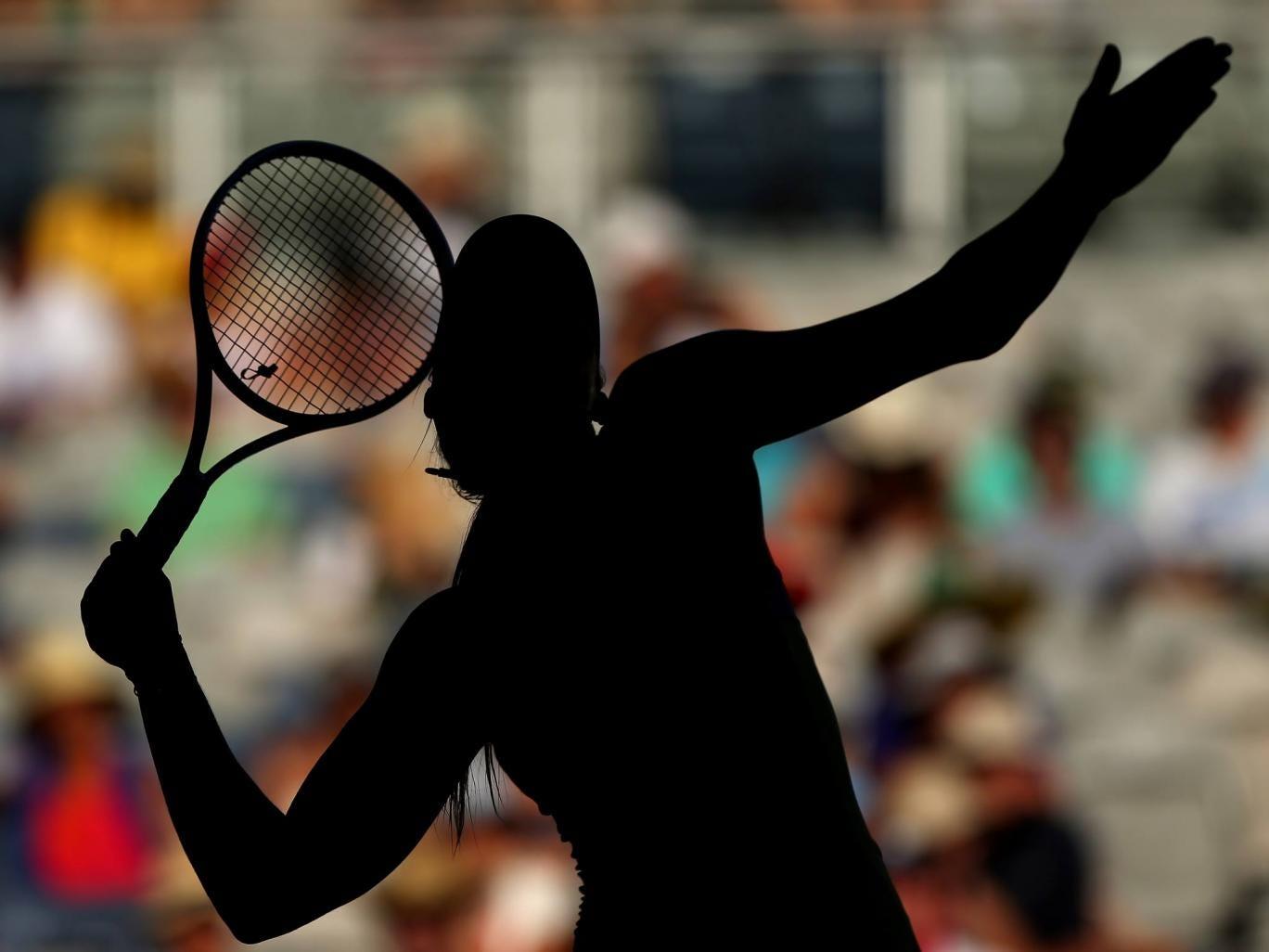 Maria Sharapova at the Australian Open