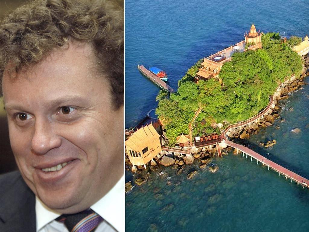 Sergei Polonsky was arrested on the island of Koh Dek Kuol