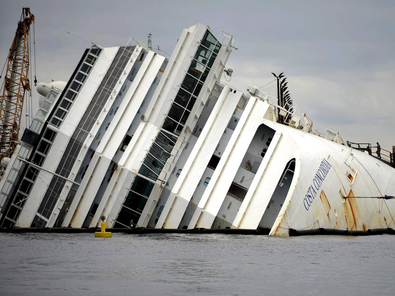 The Costa Concordia, once towed to Sicily, will be cut into pieces and sold for scrap