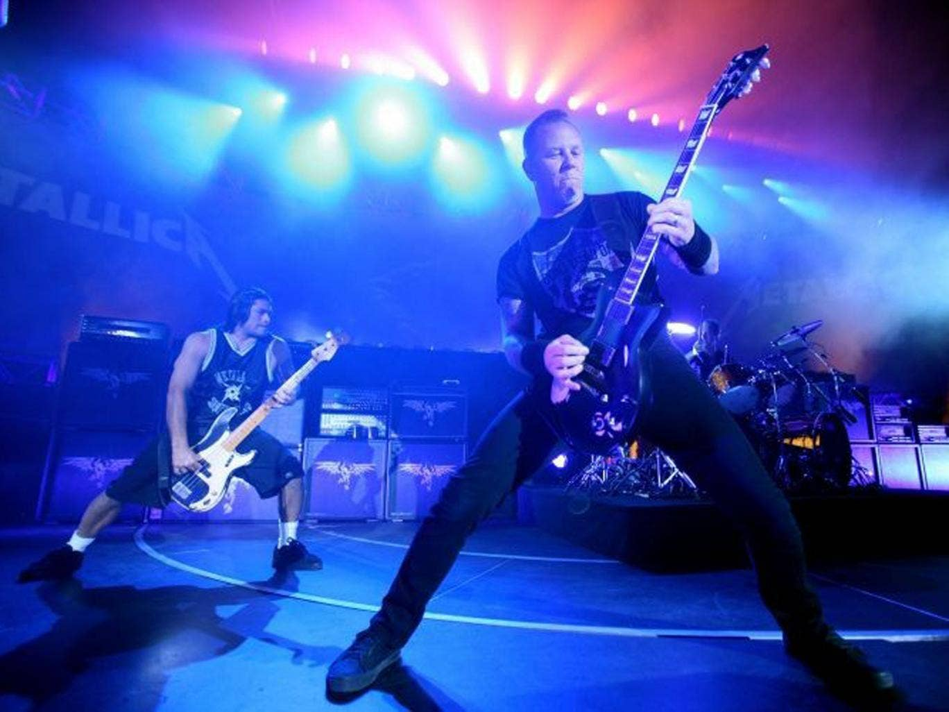 Metallica put their considerable back catalogue on Spotify last month