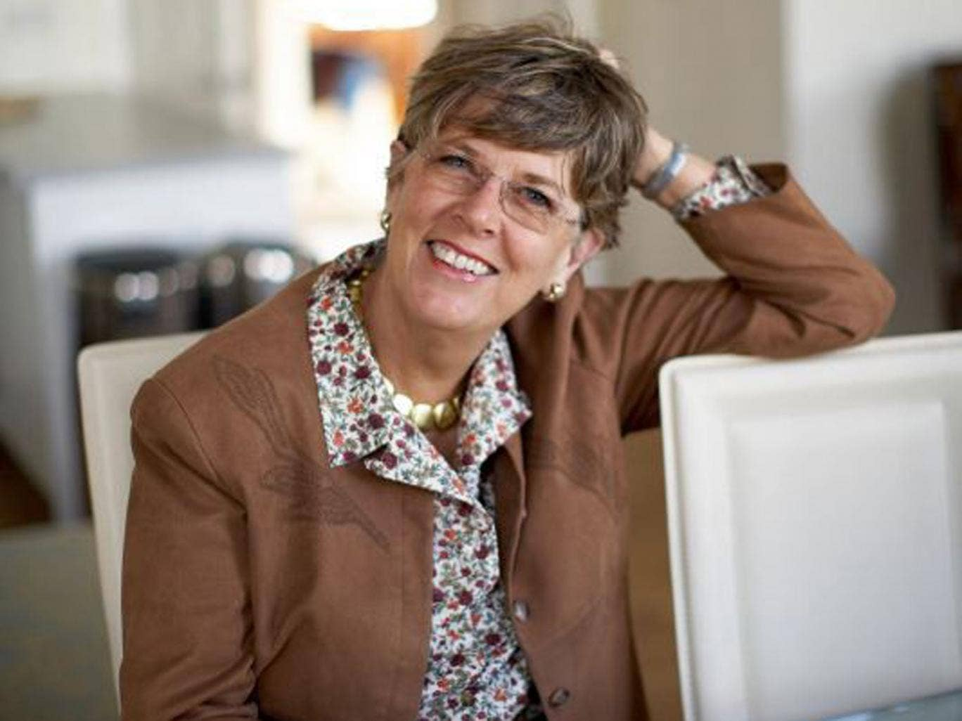 Prue Leith: 'I try not to eat it too often, though, because like most of the world I always seem to be half a stone overweight.'