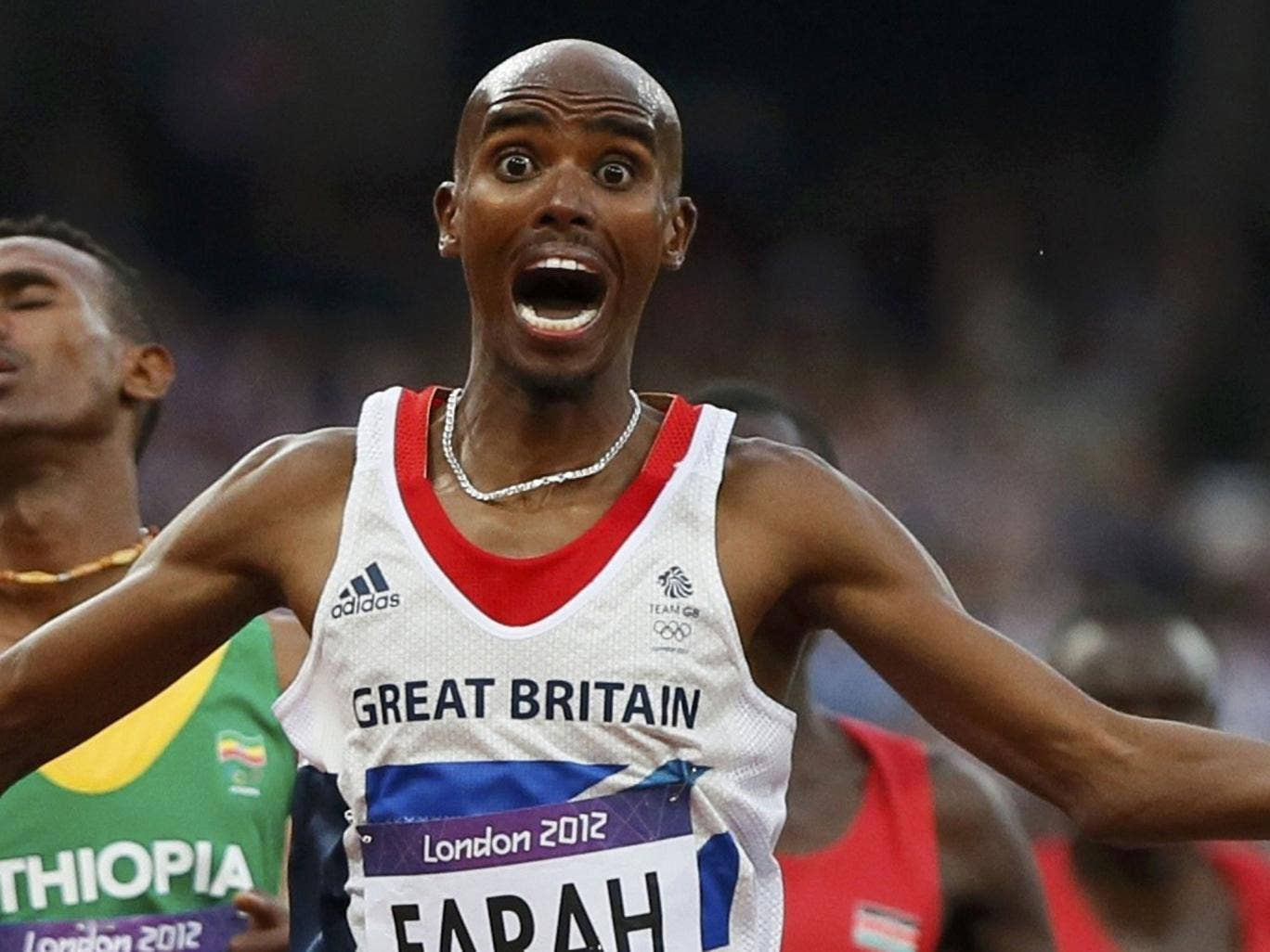 A furious Mo Farah took to Twitter today after his wife was involved in an alleged hit-and-run crash.
