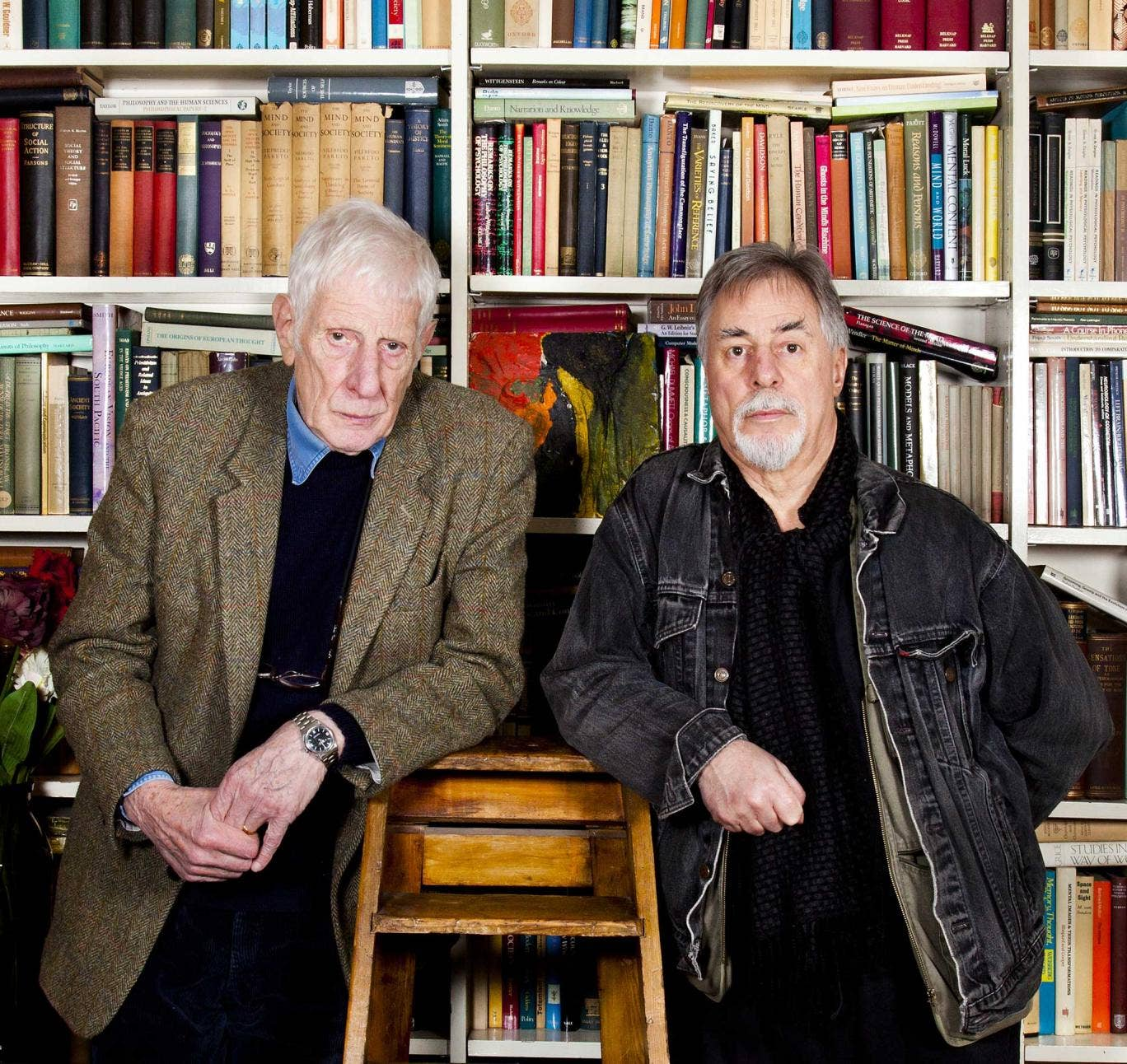 Miller (left) says of Rutter: 'He's straightforward with no silly arty-crafty pretensions.'