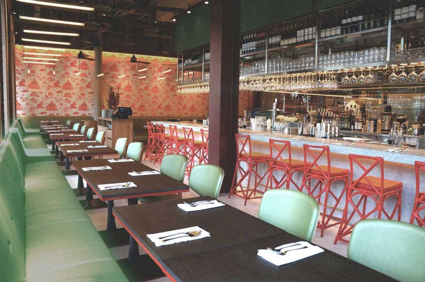 Naamyaa Café is a beautifully designed restaurant