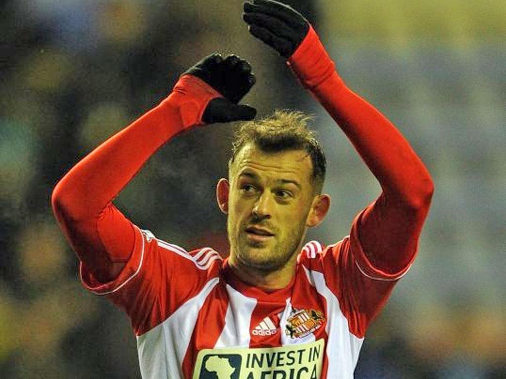 Steven Fletcher scored twice more for Sunderland on Saturday