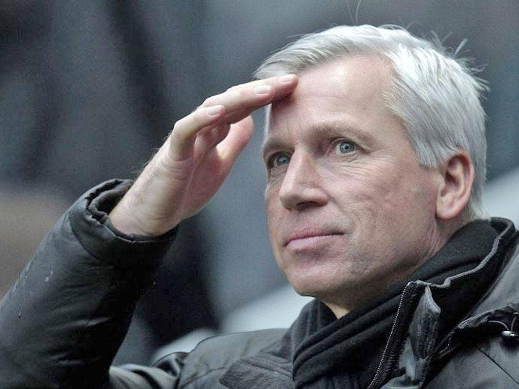 The Newcastle manager Alan Pardew was jeered by the home fans for his substitutions