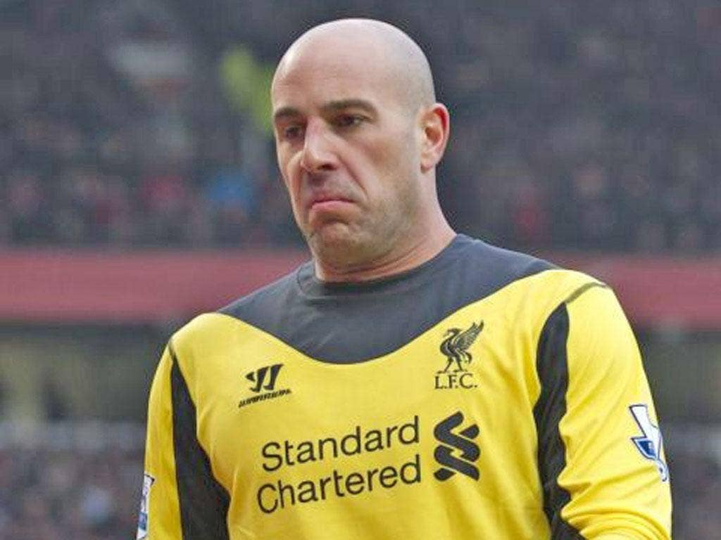 Pepe Reina (pictured) has been linked with replacing Victor Valdes