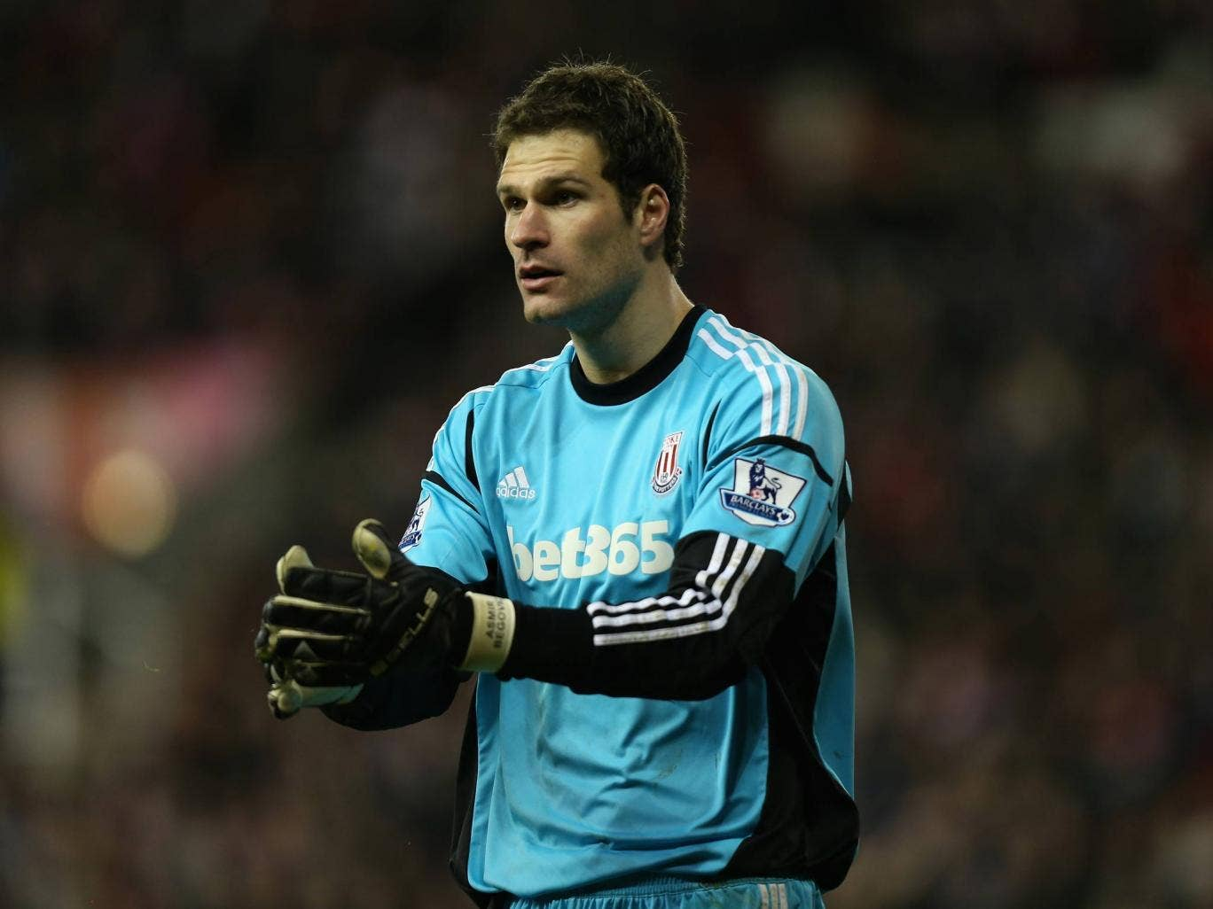 <b>Asmir Begovic</b><br/> Stoke's defence has been among the most impressive in the Premier League this term, and the man standing between the sticks hasn't gone unnoticed at Old Trafford according to reports. However, Stoke's £15m valuation of the 25-yea