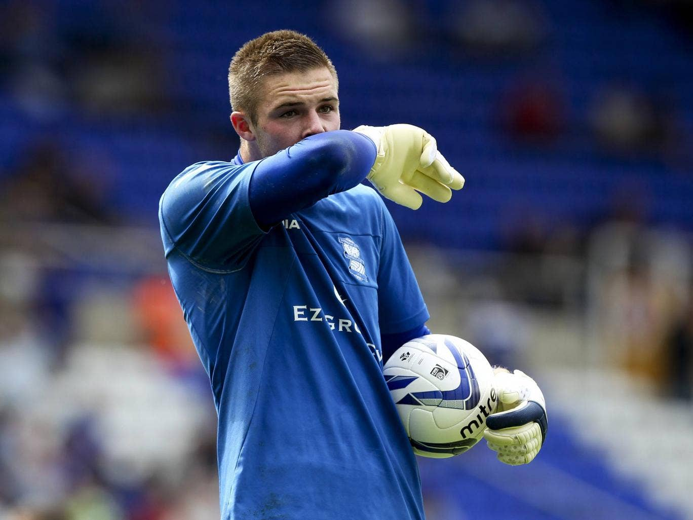 <b>Jack Butland</b><br/> Cash-strapped Birmingham have said they will listen to offers for any of their players, including England international Jack Butland. Despite appearing for England Butland is still only 19-years-old, and may not have the neccessar