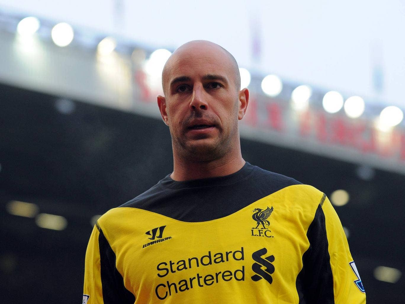 <b>Pepe Reina</b><br/> Pepe Reina has seemingly always been linked with a move away from Liverpool, with United touted as one possible destination. However, with Victor Valdes announcing he will leave Barcelona, it's thought Reina will be approached to re