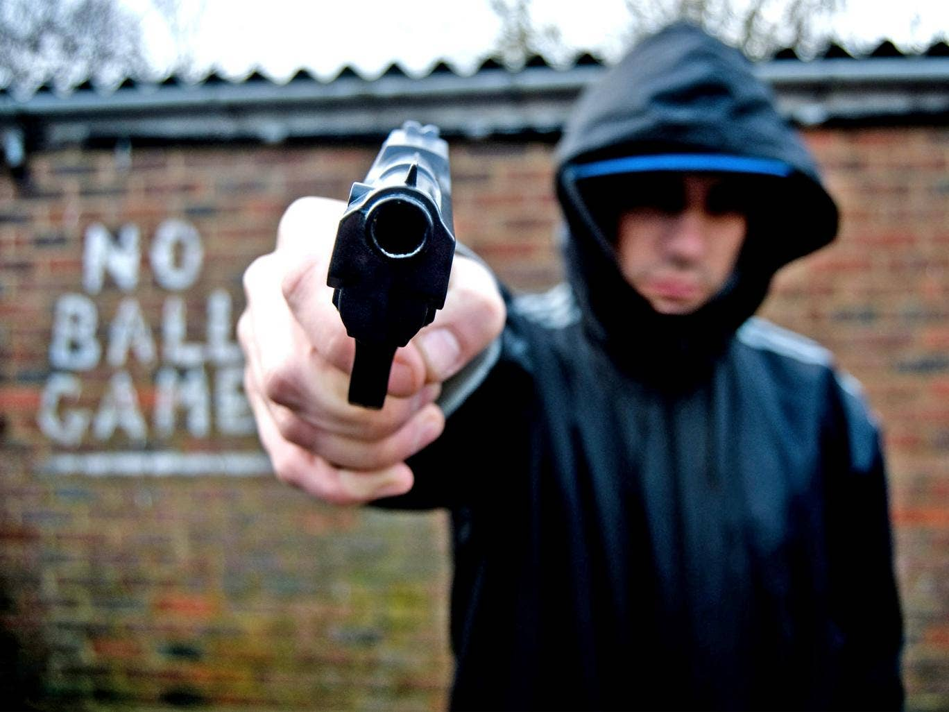 Police in England and Wales recorded 5,911 firearms offences in 2011/12