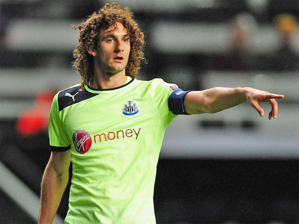 Fabricio Coloccini wants to return home to Argentina
