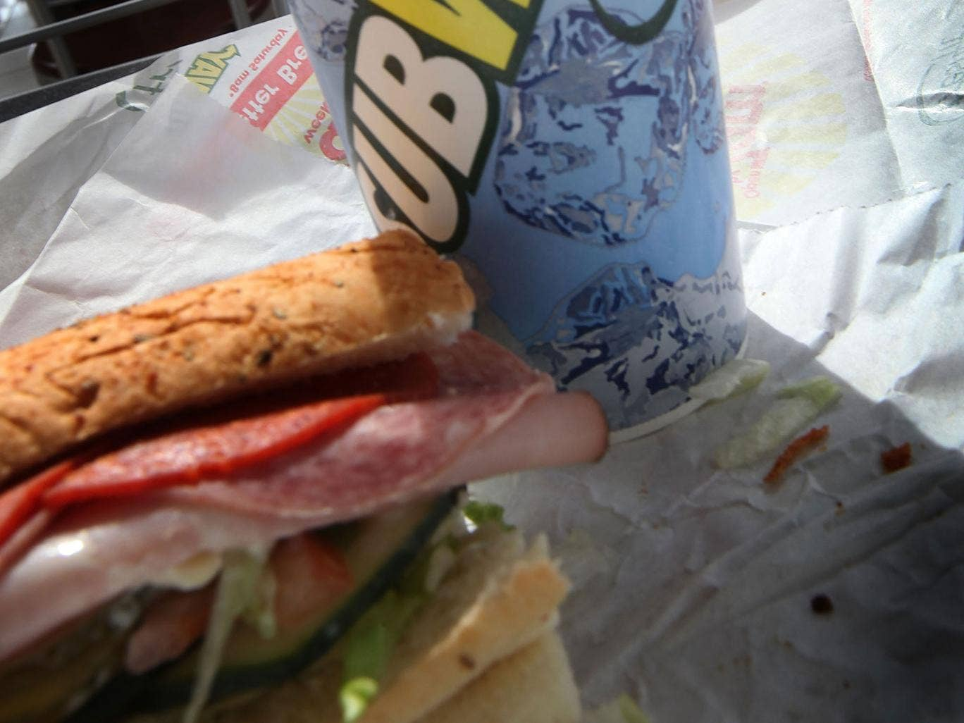 The men, John Farley, of Evesham and Charles Noah Pendrack, of Ocean City, are taking legal action in order to claim compensation and try to bring about a change in Subway's practices.