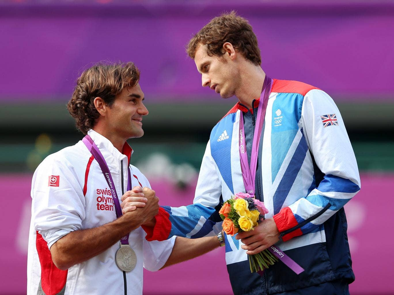 The Olympic final that Murray won last year