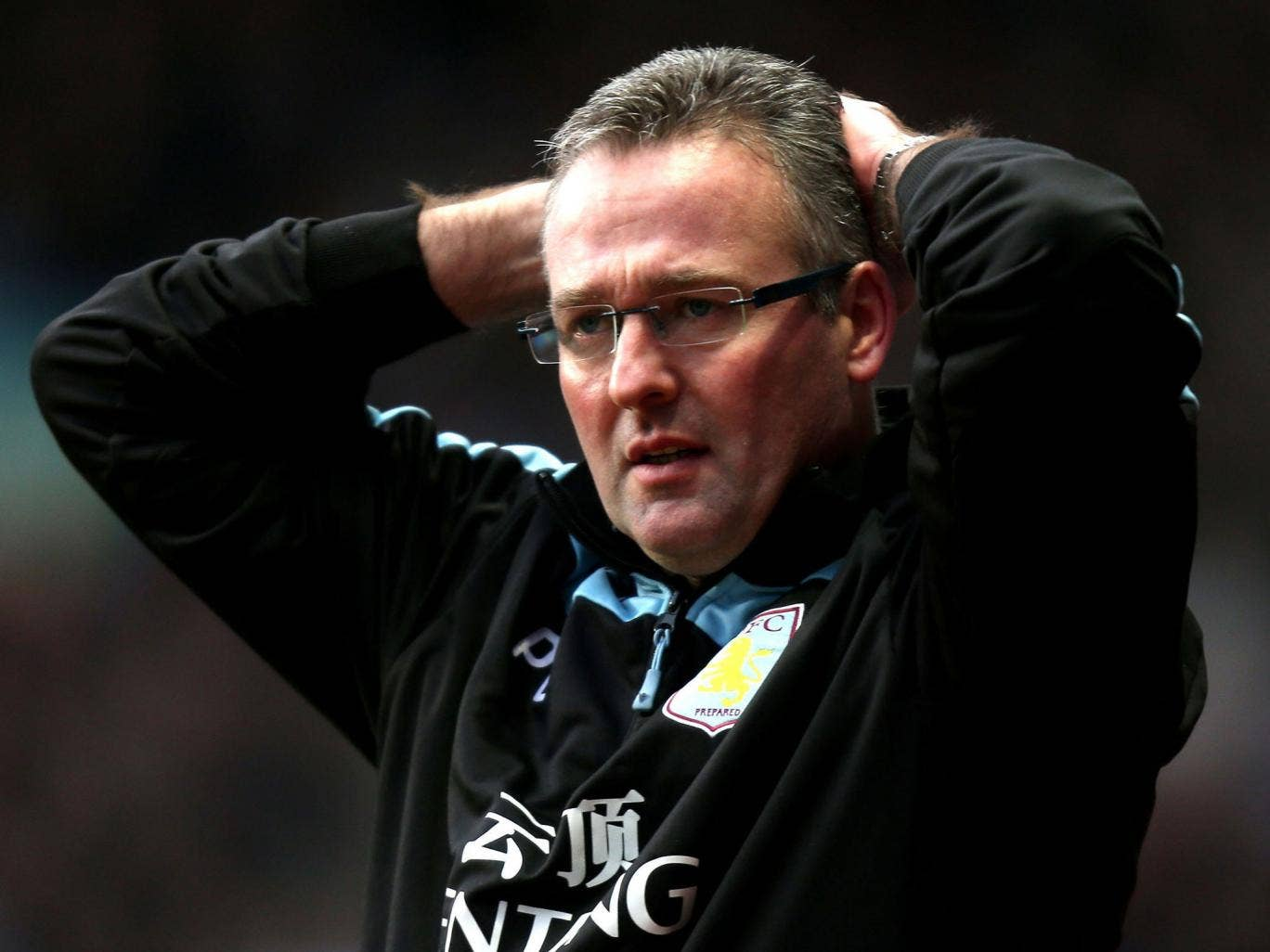 "Paul Lambert said: ""I trust Randy [Lerner]. That's the kind of relationship I have with him. I spoke with him after the game the other night and we have a good conversation every time.'"