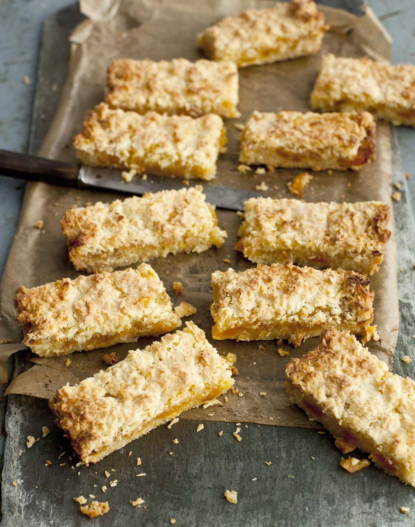 Family favourite: Coconut and apricot slice