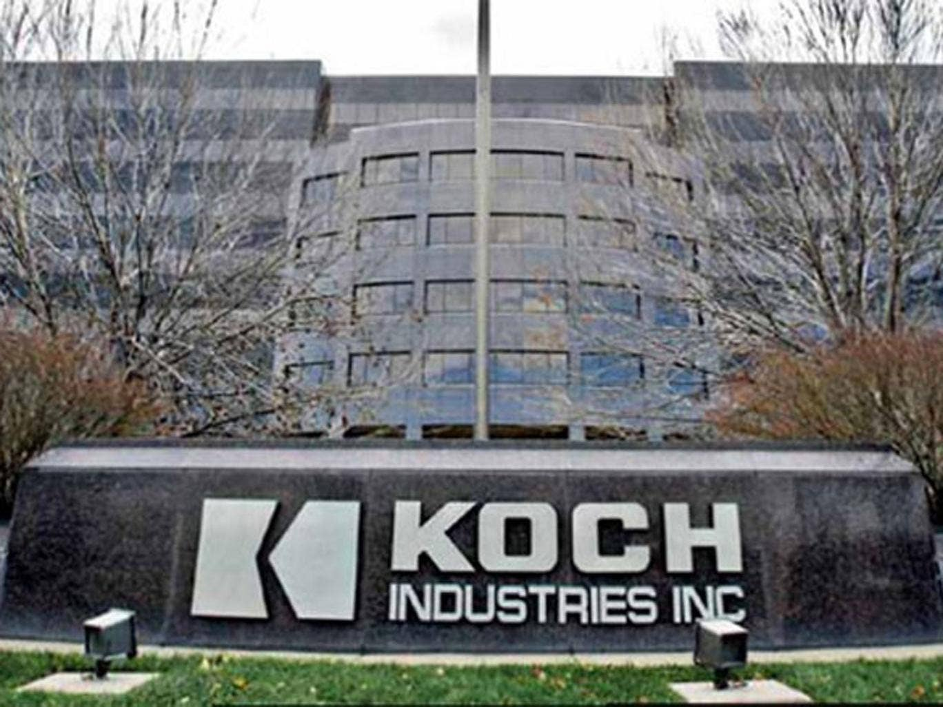 The headquarters of Koch Industries in Wichita, Kansas