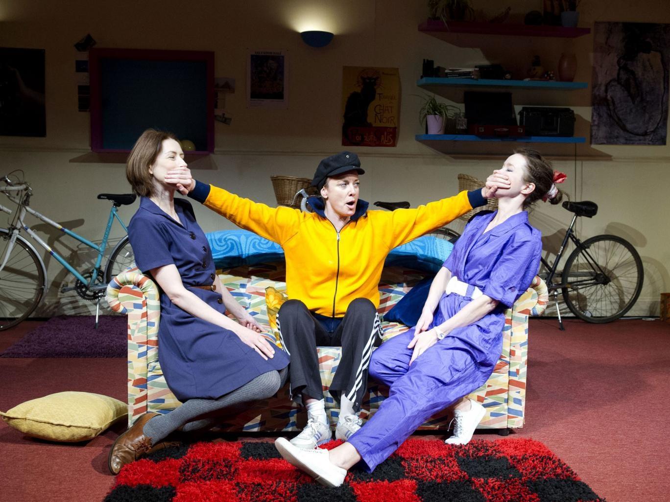 Speak no evil: Gina McKee, Tamzin Outhwaite and Anna Maxwell Martin