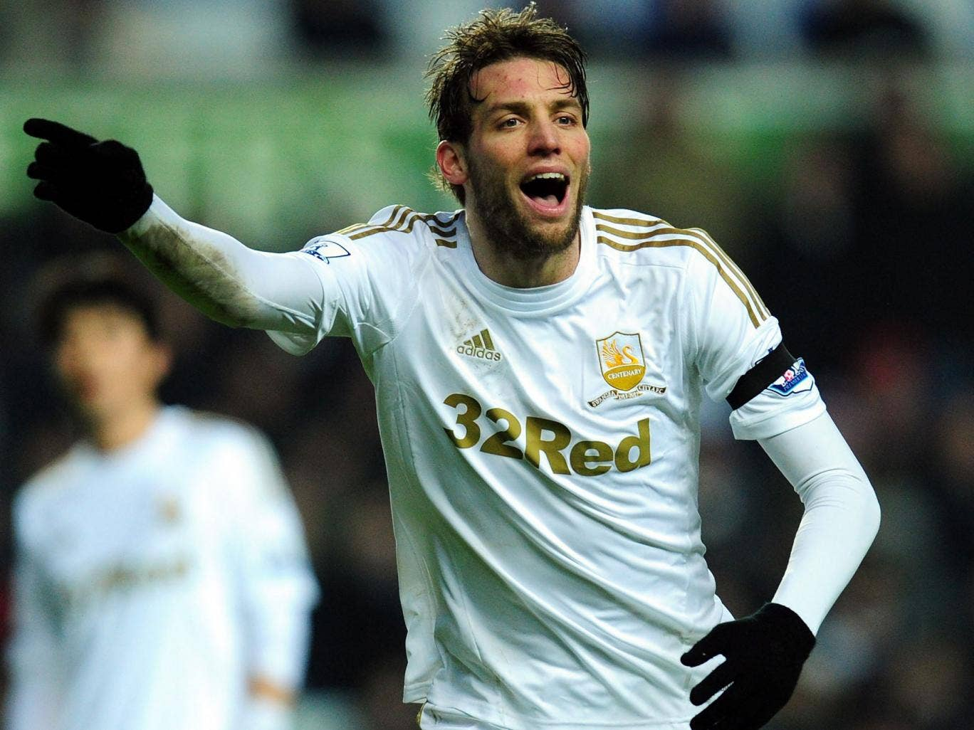 Swan on high: Michu has been told by Spain coach Vicente del Bosque he will be included in the squad next month
