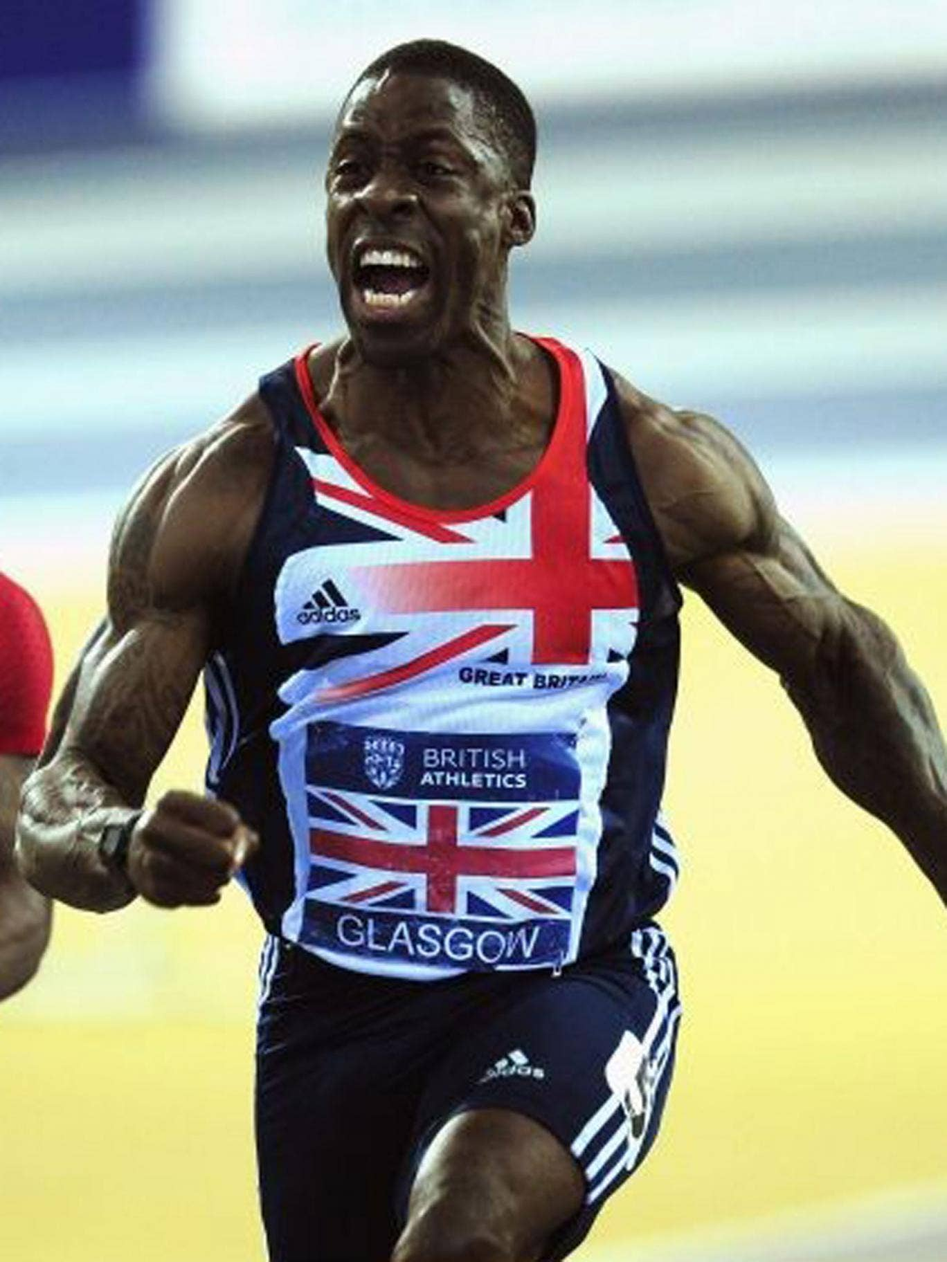 Dwain Chambers recorded the second fastest time of the year in the 60m