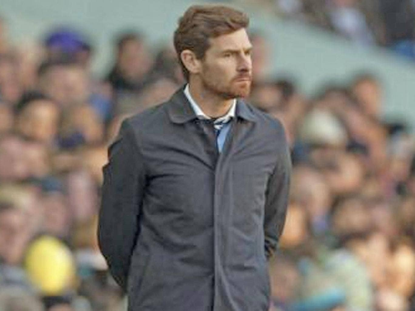 Andre Villas-Boas: Spurs manager admitted that it was dangerous having only two strikers