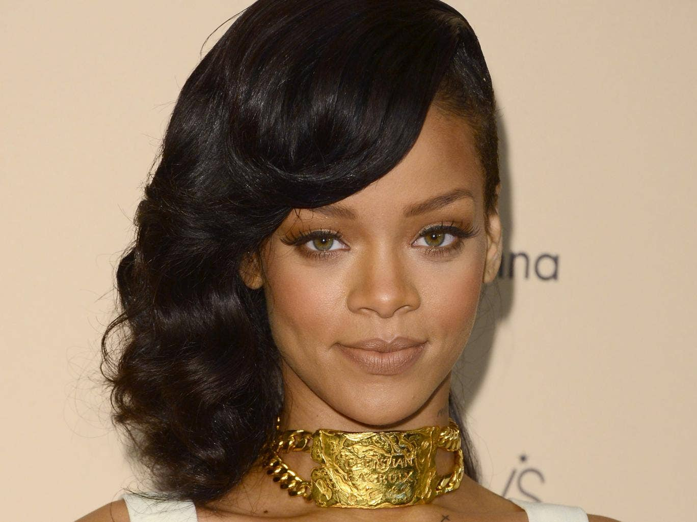 Singer Rihanna has collaborated with River Island to create a collection for the high street retailer
