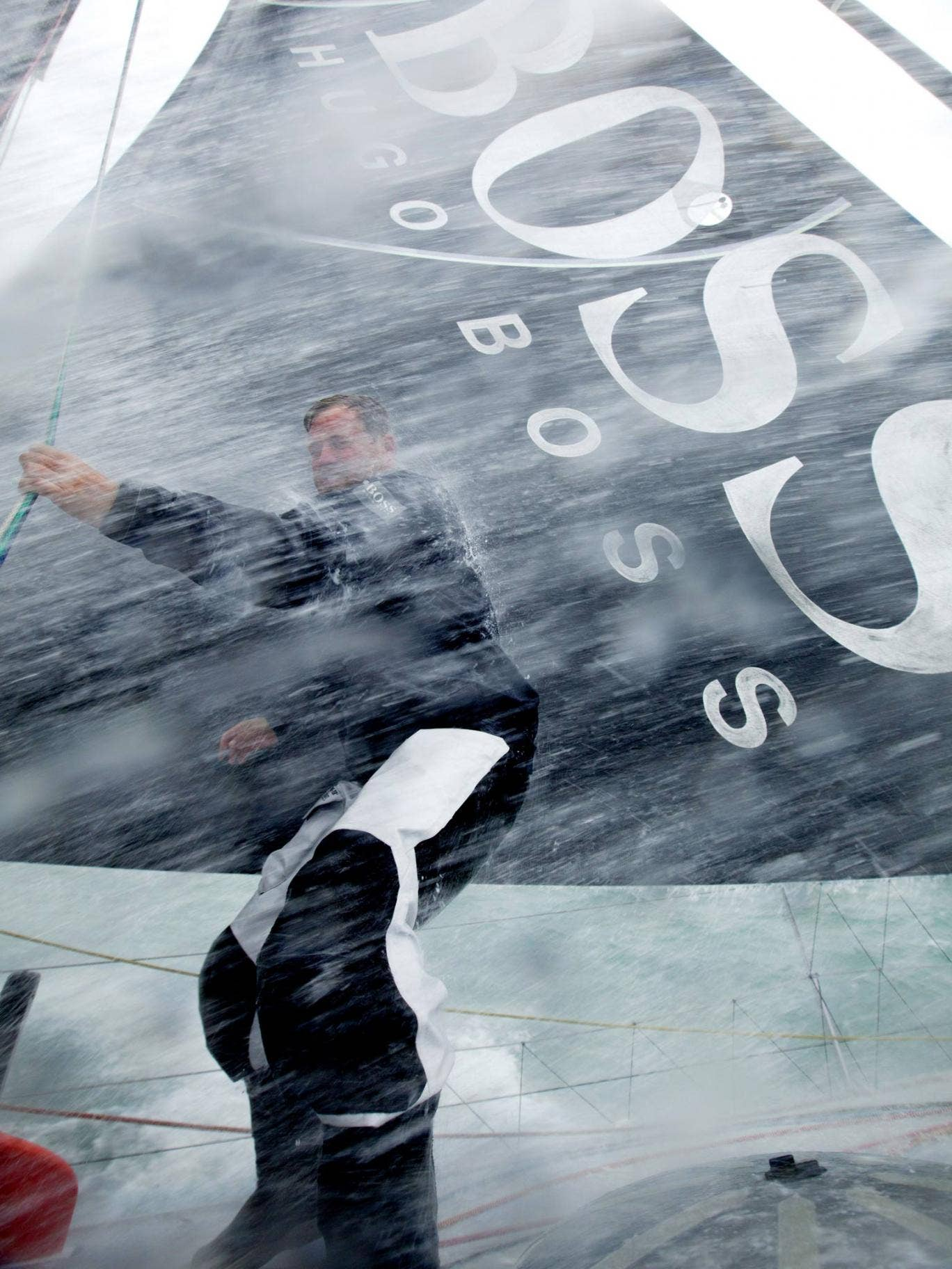 Conditions have been hard, but a third place end is in sight for Alex Thomson in the Vendée Globe singlehanded non-stop round the world race