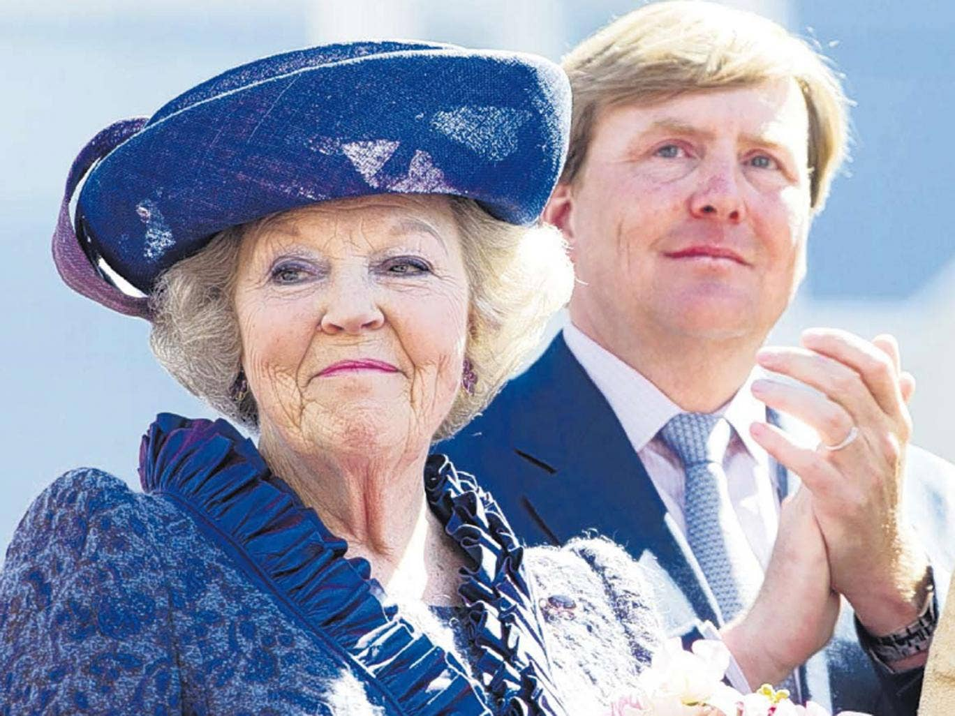 Queen Beatrix will step down in April to allow her son, Prince Willem-Alexander, to become king