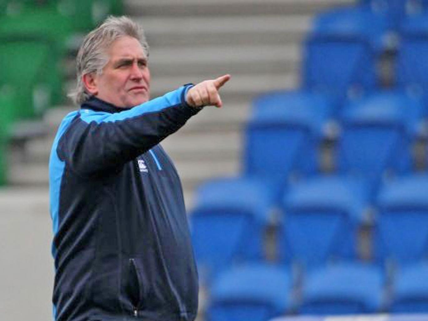 Scotland's interim coach Scott Johnson