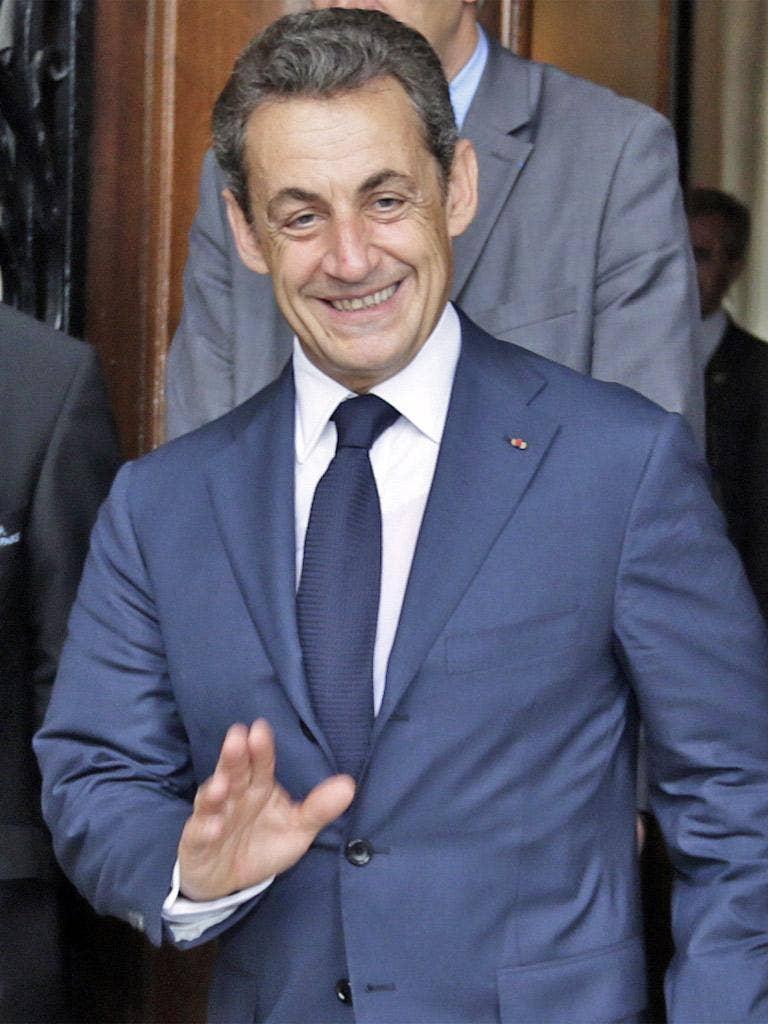 Nicolas Sarkozy's office refused to comment on the allegations
