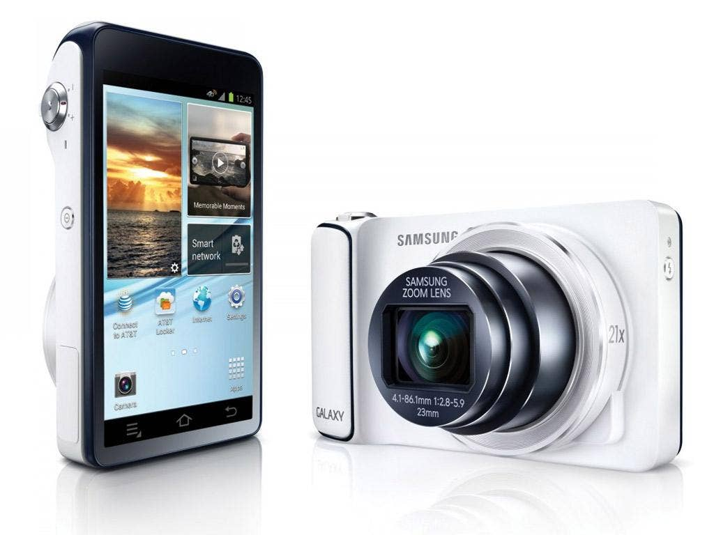 The Samsung Galaxy Camera could act as your main smart device