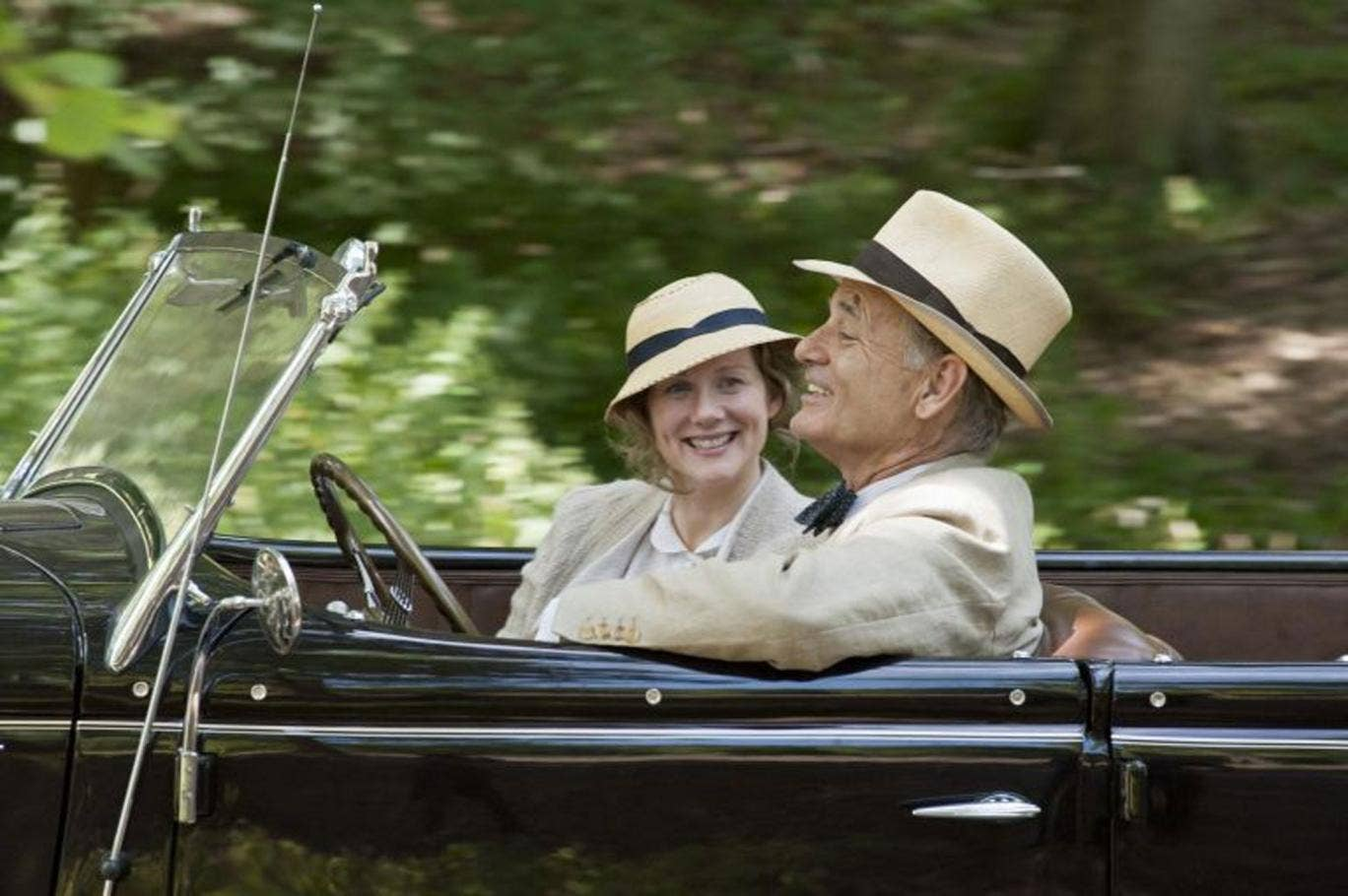 Driving Miss Daisy: Laura Linney and Bill Murray star in the prim drama 'Hyde Park on Hudson'
