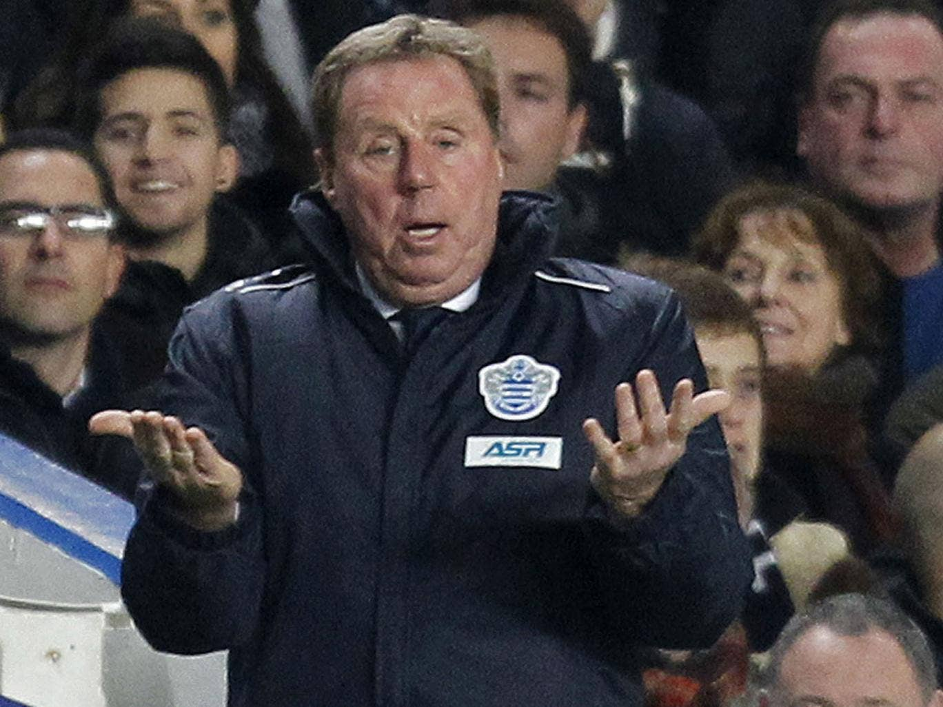 Harry Redknapp expressed his wish for Samba a month ago