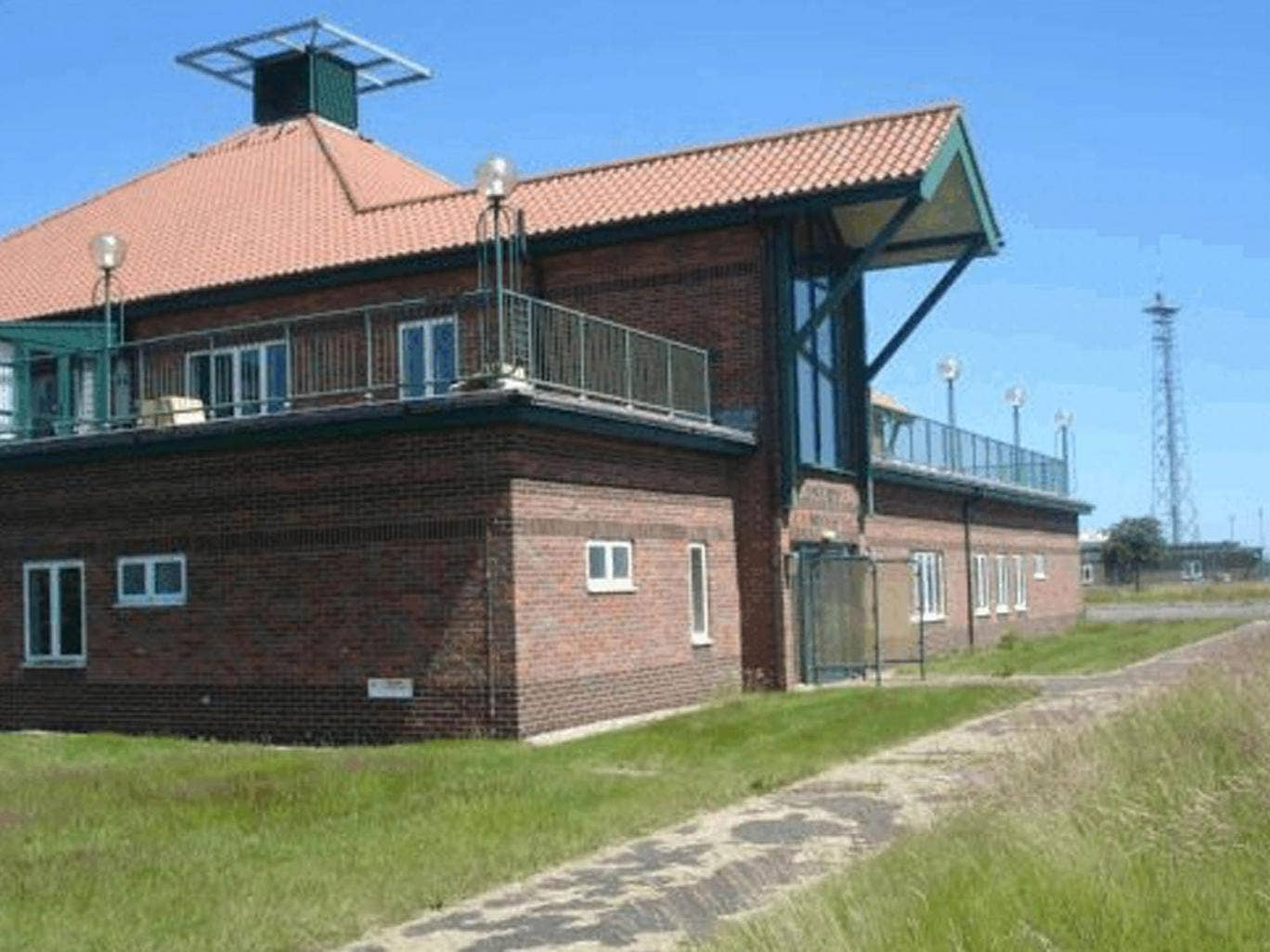 The former RAF Neatishead radar base in Norfolk