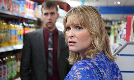 Joanna Page and Matthew Lewis in The Syndicate