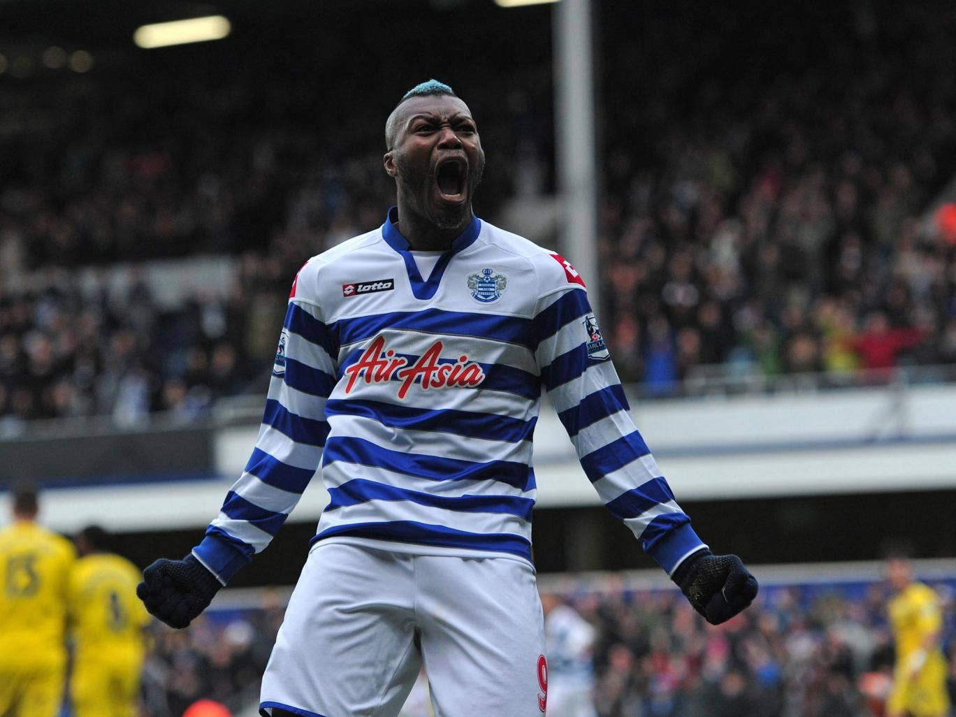 <b>Djibril Cissé (Lazio to QPR, £4m, 2012)</b><br/> Cissé made a highly eventful start to his QPR career after arriving on deadline day in 2012. The Frenchman scored on his debut as his side earned a crucial draw against fellow strugglers Aston Villa but