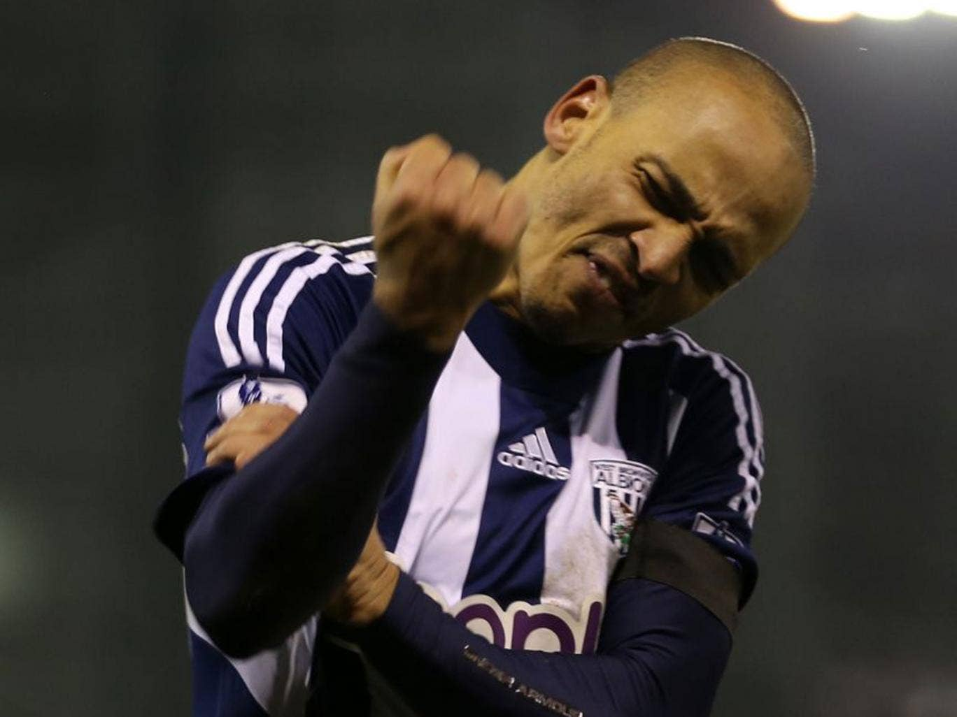 Peter Odemwingie embarrassingly arrived at Loftus Road