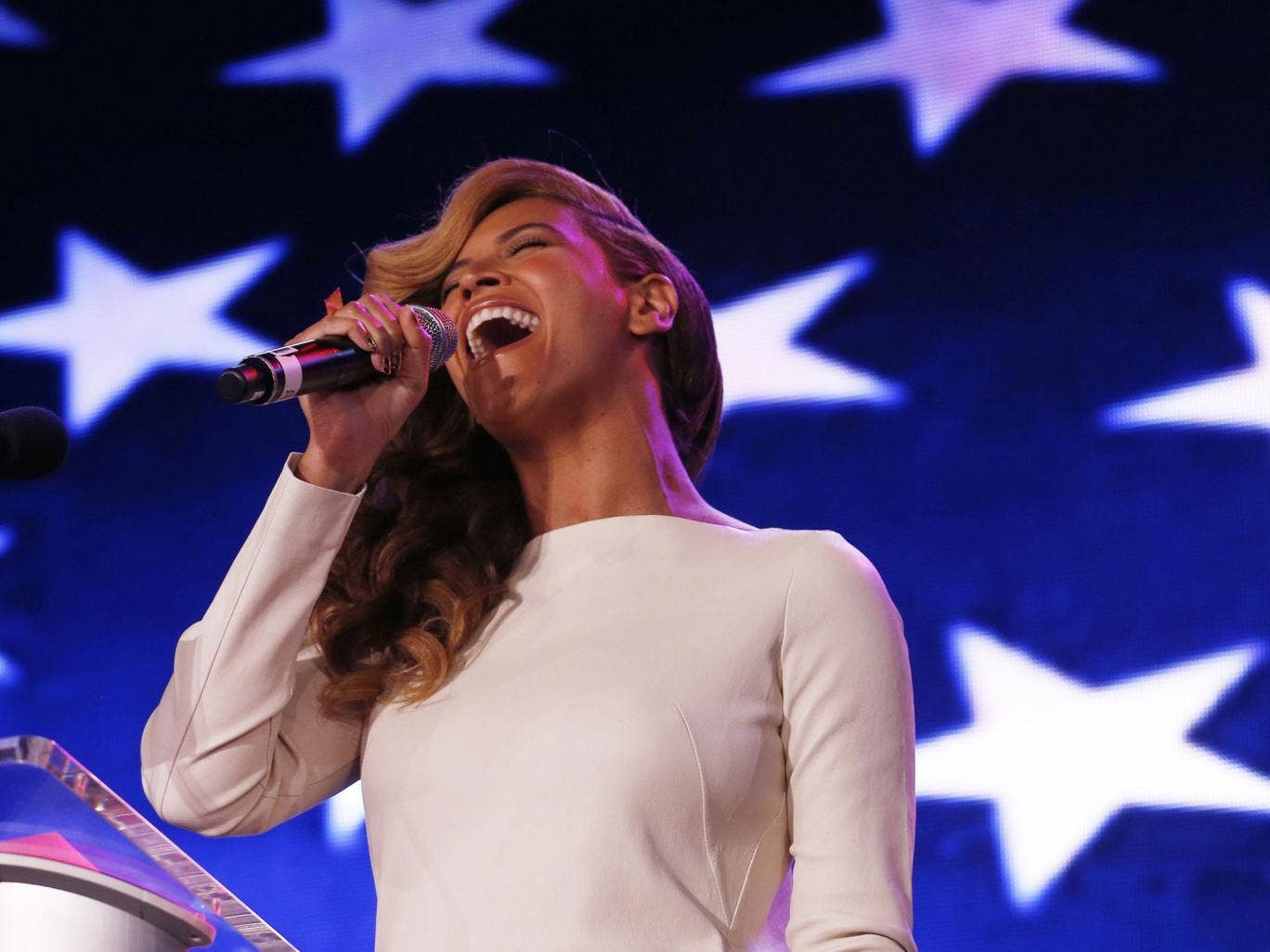 Fresh from lip-syncing at the President's inaugration, Beyonce will take to the stage for the Super Bowl's half-time show