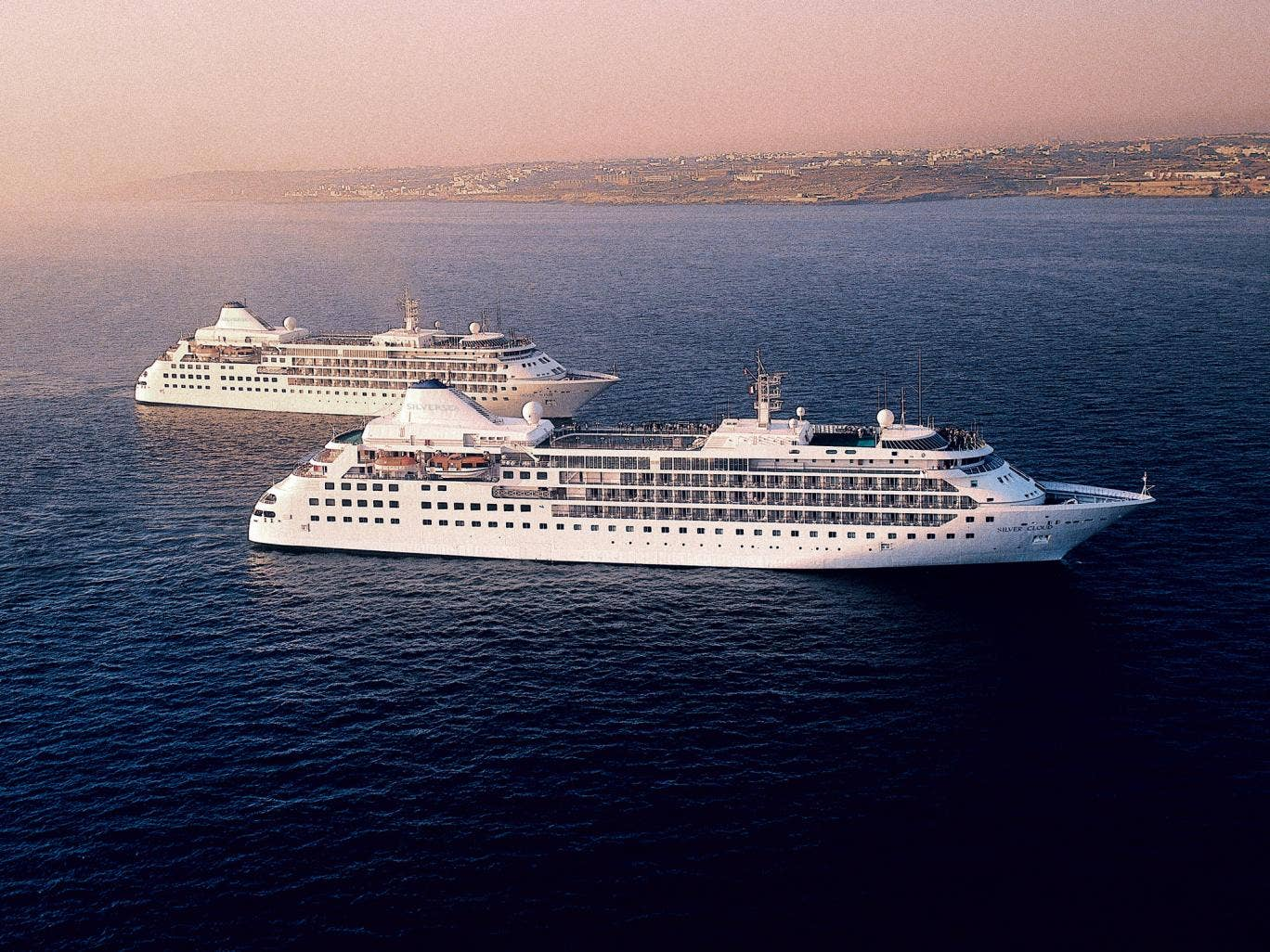 Test the waters: Silversea offers a selection of short sailings