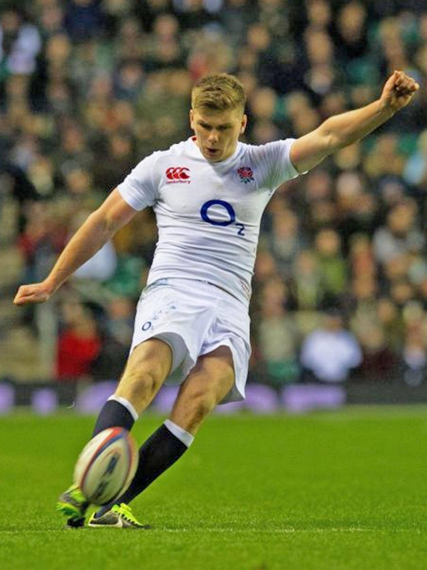 Owen Farrell kicked seven out of eight attempts at goal