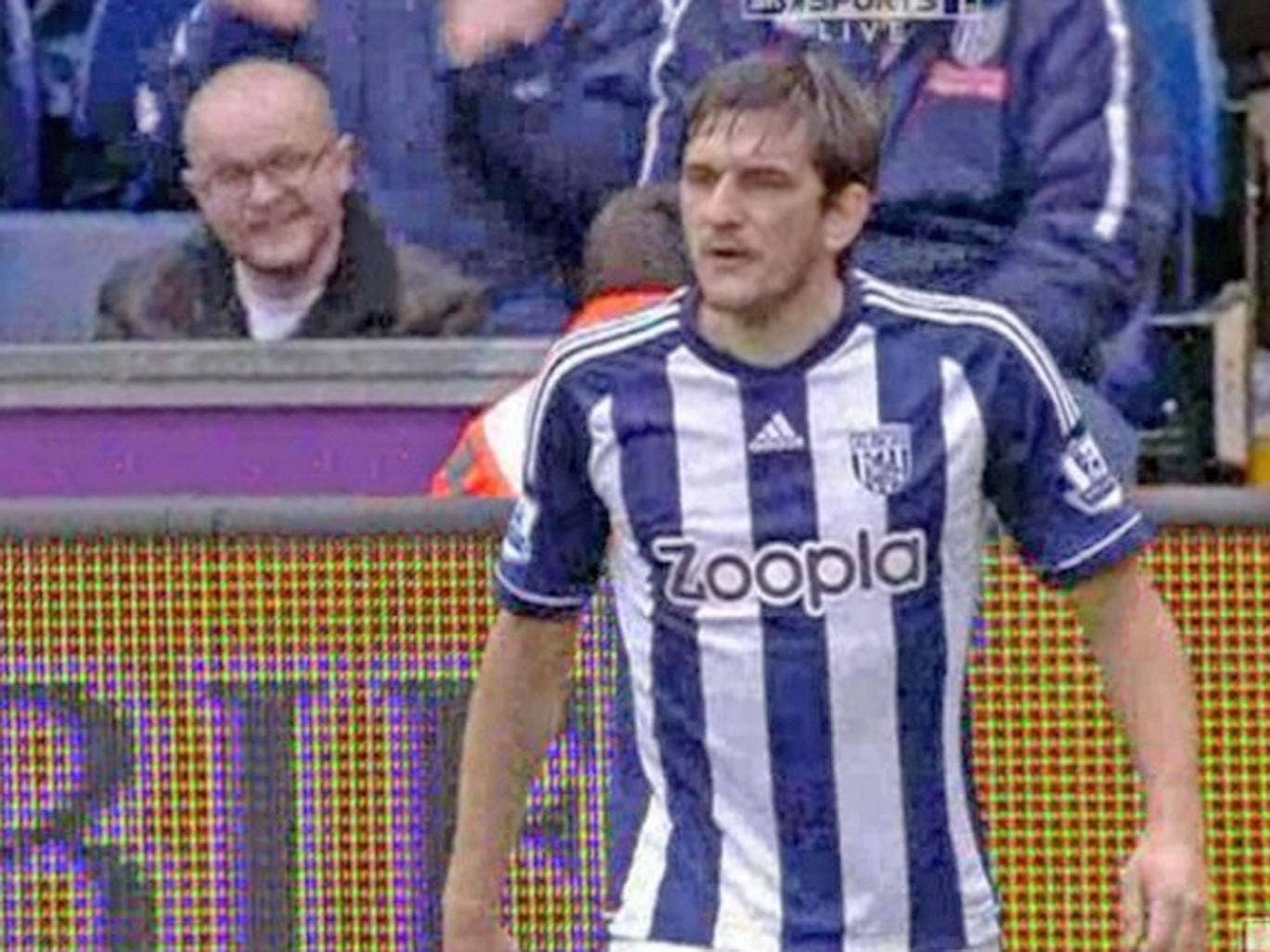 Goran Popov spitting has caused more headaches for WBA manager Steve Clarke