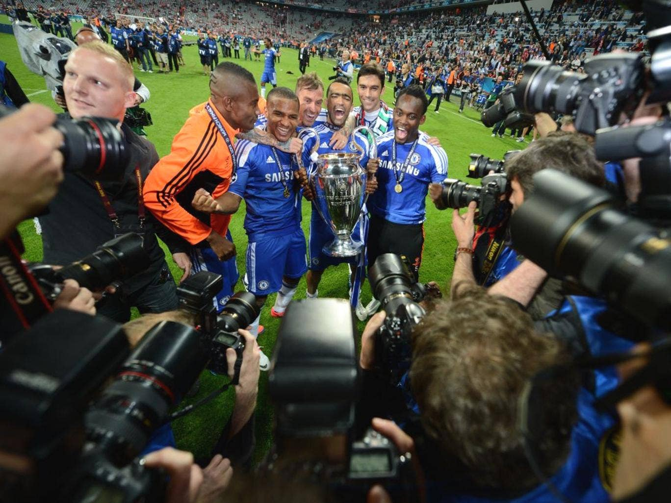 Chelsea won the Champions League last year. There is no suggestion anyone at the club is involved in the match-fixing investigation