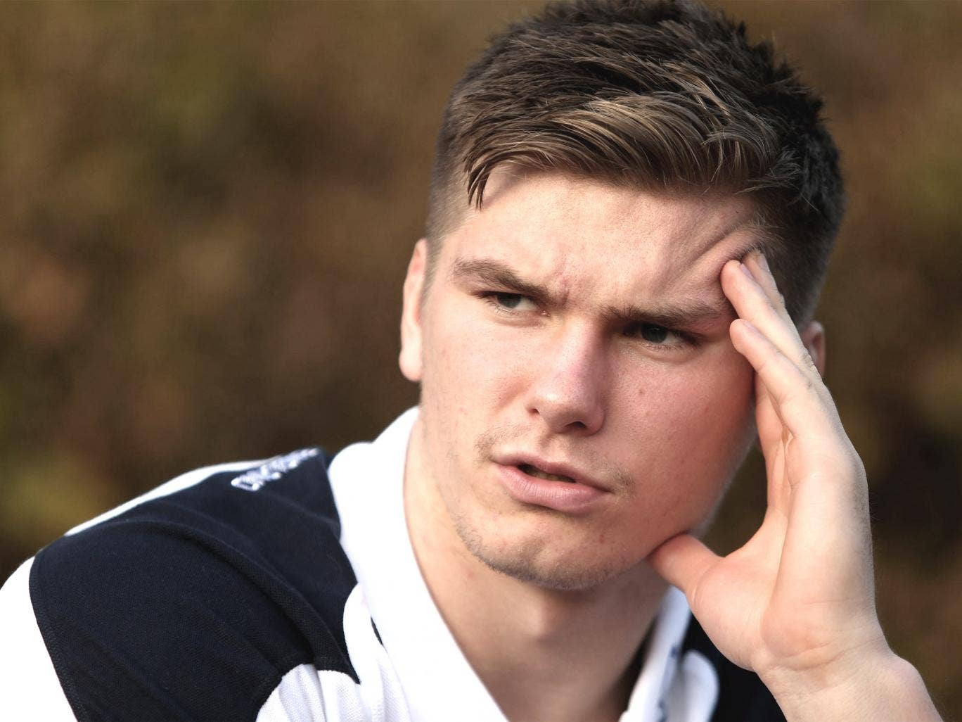 Owen Farrell will lead the red-rose challenge in Dublin