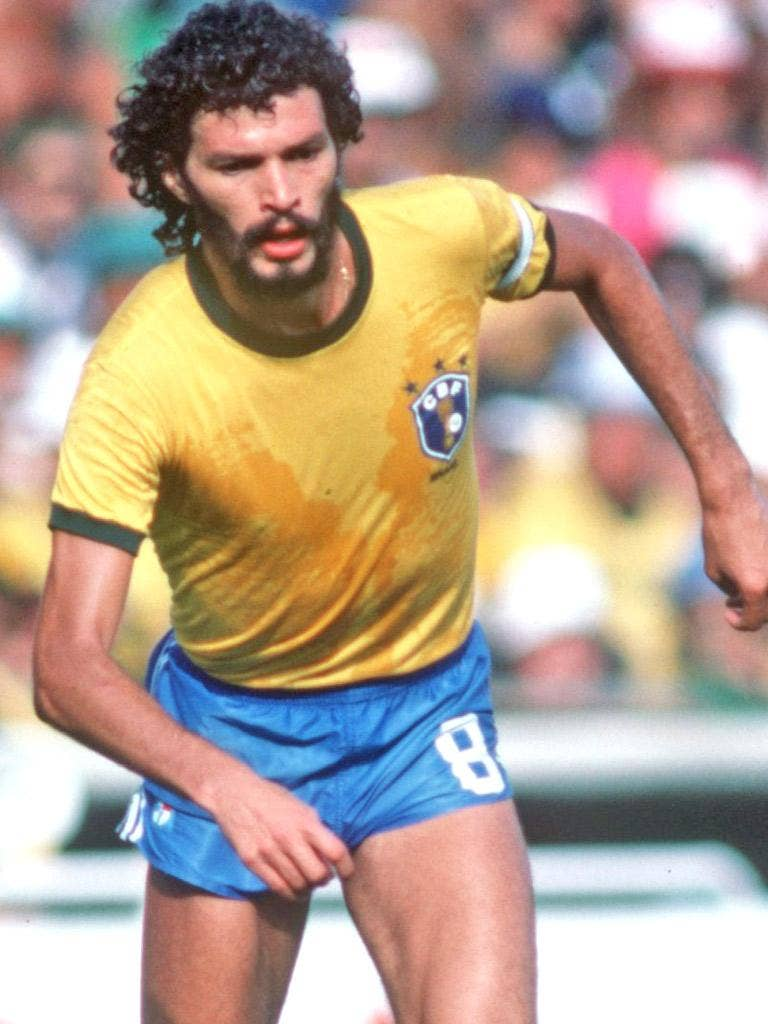 Socrates' Brazil of 1982 are still considered the best team never to have won the World Cup