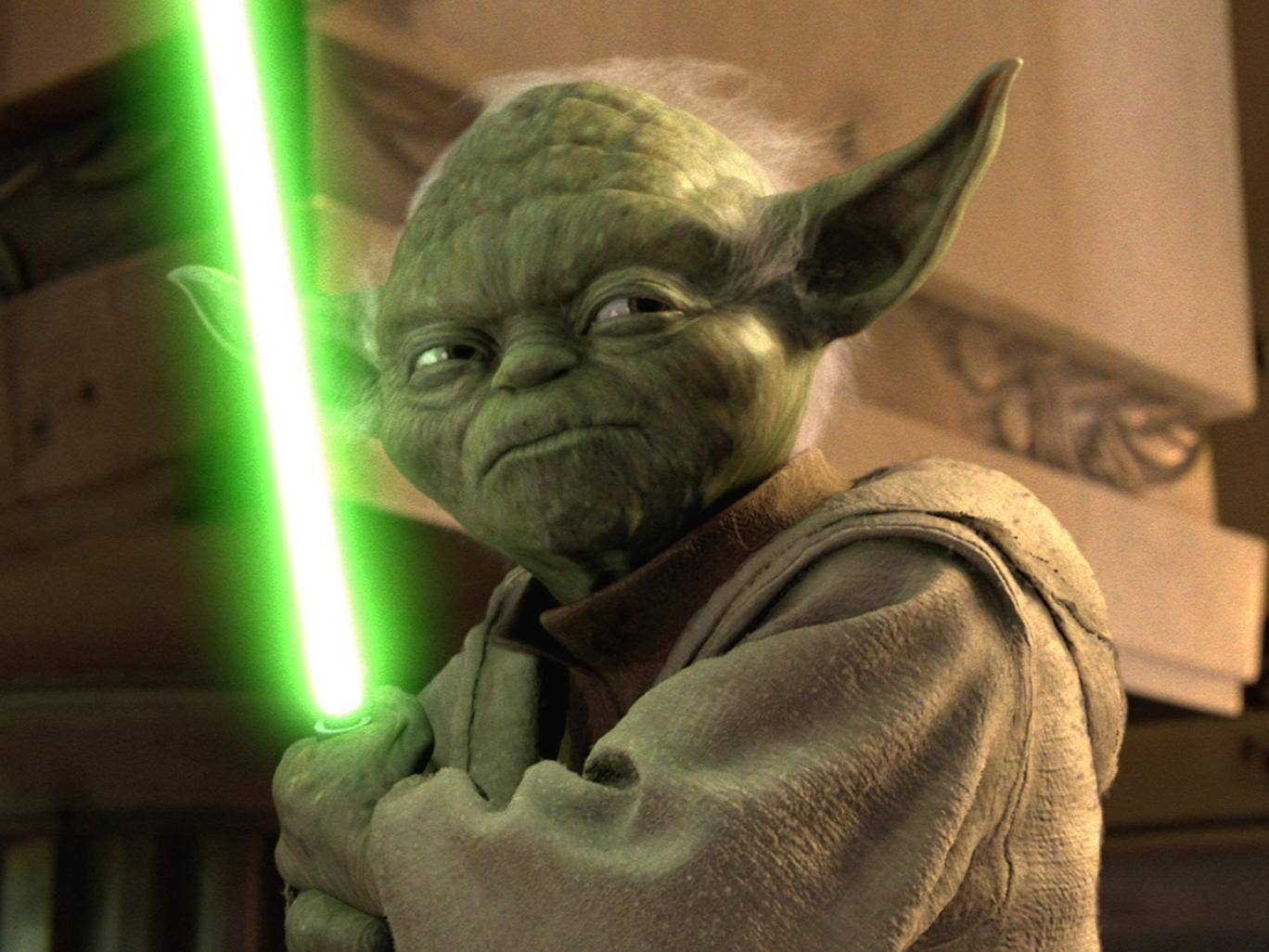 Yoda's been around for the best part of a millennium
