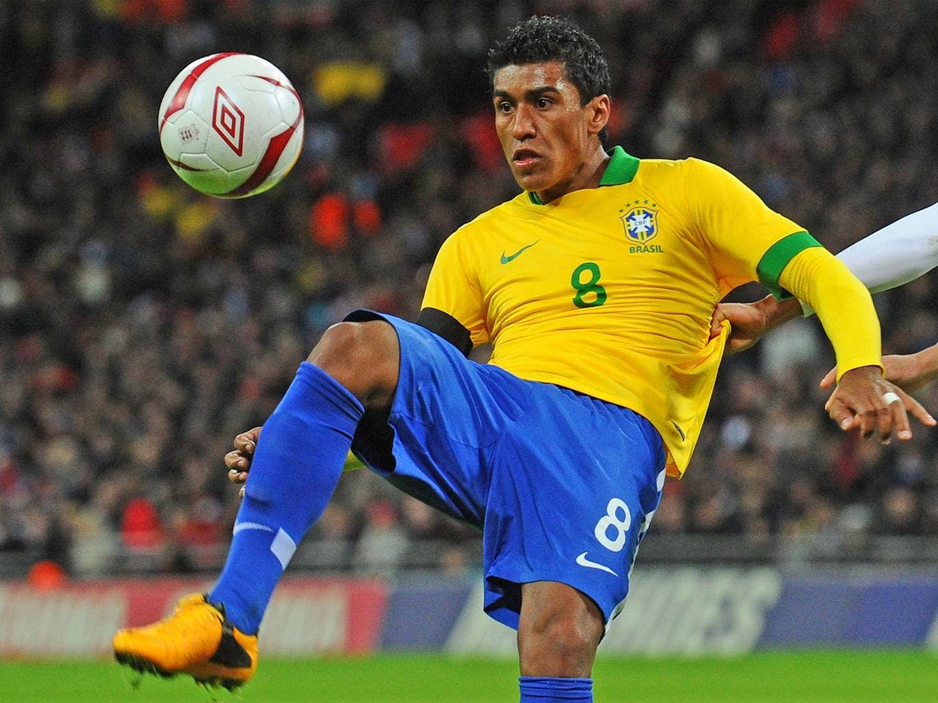 PAULINHO: Looked off the pace in midfield, not least when Rooney darted in front of him to set up Lampard's goal. 5