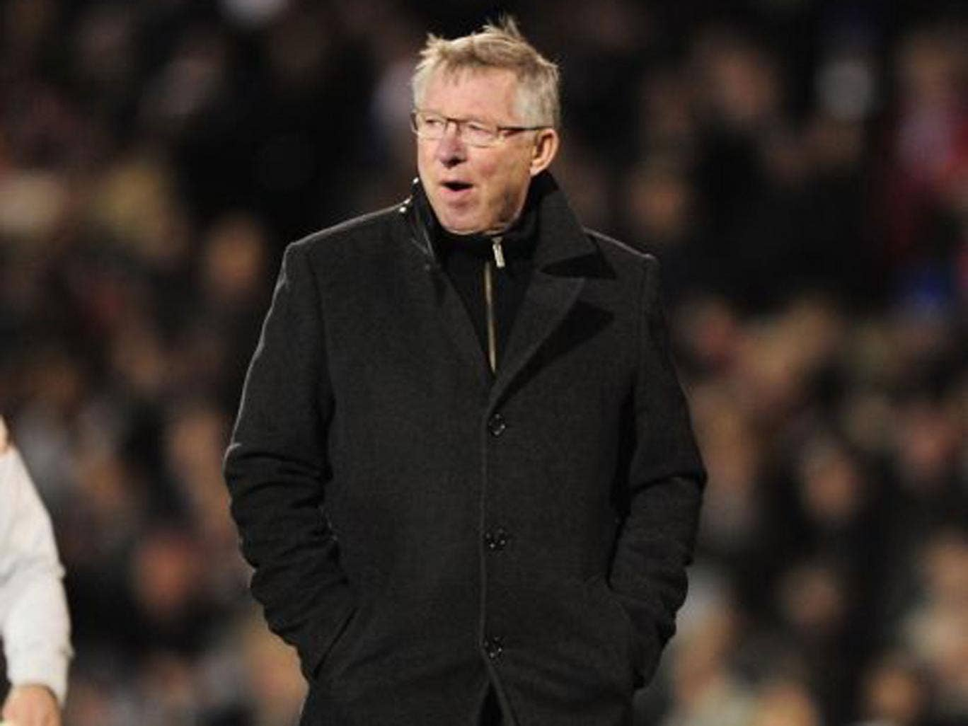 Sir Alex Ferguson will rotate his players against Everton